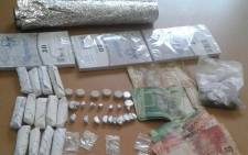 Drugs and cash seized from an Eastern Cape man's house. Picture: SAPS.