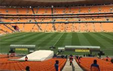 The FNB Stadium ahead of the match. Picture: EWN
