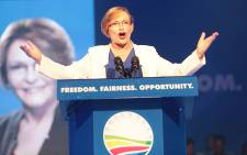FILE: Former Democratic alliance leader Helen Zille during her final address as party head at the party's national congress in Port Elizabeth. Picture: Reinart Toerien/EWN