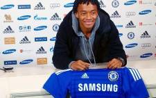 Columbia's Juan Cuadrado signed for Chelsea FC from Fiorentina during the 2015 January transfer window. Picture: Official Juan Cuadrado FB.