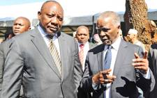 FILE: President Cyril Ramaphosa and former president Thabo Mbeki. Picture: GCIS.