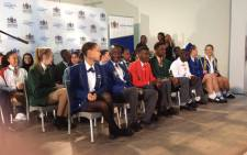 Gauteng's top matric achievers were honoured at a special event in Lyndhurst, Johannesburg, on 5 January 2018. Picture: Thando Kubheka/EWN.
