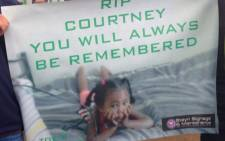 FILE: Residents say outside court say they are still struggling to deal with three-year-old Courtney Pieters's tragic death. Picture: Lauren Isaacs/EWN