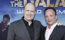 Marvel's Guardians of the Galaxy Producer Kevin Feige and Executive Producer Louis D'Esposito. Picture: Facebook.