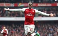 Arsenal forward Danny Welback celebrates a goal. Picture: @Arsenal/Twitter