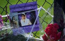 FILE: Messages left by fans of Prince are seen prior to a memorial service held inside the Paisley Park compound of the music legend, who died suddenly at the age of 57, in Minneapolis, Minnesota, on 23 April 2016. Picture: Mark Ralston / AFP.