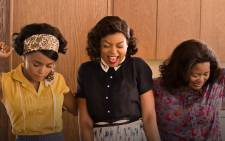 The film stars Janelle Monae, Taraji P. Henson and Octavia Spencer  as African-American scientists and mathematicians in the early days of the space program. Picture: Twitter @HiddenFigures