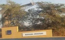 FILE: Lonmin's Marikana mine. Picture: Supplied.