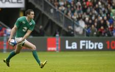 FILE: Ireland's Johnny Sexton. Picture AFP.