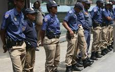 Members of the Johannesburg Metro Police Department. Picture: EWN