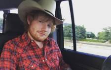 FILE: Ed Sheeran. Picture: Instagram