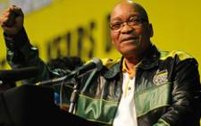 President Jacob Zuma promised to improve the health care system and the country as a whole, while unveiling the ANC's election manifesto in Mpumalanga on Saturday 11 January 2014. Picture: Supplied.