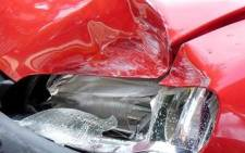 File picture: A car wreck after a road accident. Picture: stock.xchng
