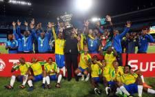 Mamelodi Sundowns beat TP Mazembe Englebert 1-0 at Loftus Versfeld. Picture: Twitter @Masandawana.