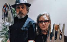 Mark Hamill seen with his late 'Star Wars' co-star Carrie Fisher. Picture: Instagram/@hamillhimself.