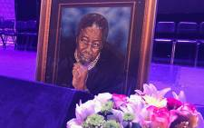 Joe Mafela's memorial service at the Joburg Theatre. Picture: Kgothatso Mogale/EWN.