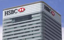 HSBC's headquarters is pictured in east London on 9 June, 2015. Picture: AFP.