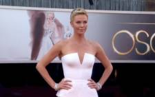 Charlize on the red carpet