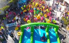It's been announced that the popular Slide the City event has been postponed. Picture: Slide the City South Africa via Facebook.