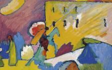 Wassily Kandinsky's expressionist masterpiece Studie zu Improvisation 3. Picture: christies.com