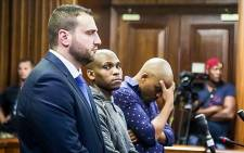 FILE: The co-accused in the Jayde Panayiotou murder trial. Christopher Panayiotou, Sinethemba Nenembe and Zolani Sibeko. Picture: Anthony Molyneaux/EWN.