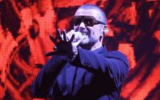 FILE: Late British singer George Michael. Picture: AFP