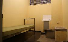 A prison cell.  Picture: Christa Eybers/EWN