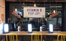 A Vitamin D pop-up store in London. Picture: facebook.com