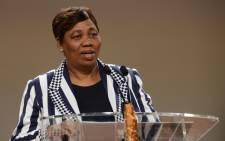 Basic Education Minister Angie Motshekga. Picture: EWN.