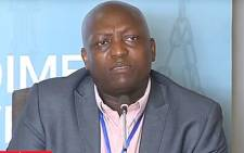 A screengrab of the former president of the South African Society of Psychiatrists Dr Mvuyiso Talatala giving evidence at the Esidimeni arbitration hearings. Picture: Supplied.