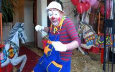 Puddles the clown. Picture: www.puddlestheclown.co.za