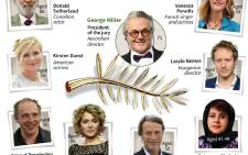 The jury for this year's Cannes Film Festival, led by Australian film director George Miller (Mad Max).