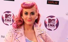 FILE: US singer Katy Perry. Picture: AFP.