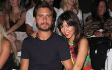 Kourtney Kardashian and Scott Disick. Picture: AFP.