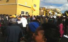 ANCYL members on 27 August 2012. Picture: Carmel Loggenberg/EWN.