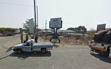Beitbridge border post on the South African side. Picture: Google maps.