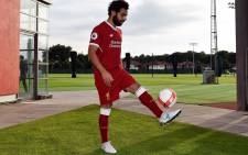 FILE: Egyptian winger Mohamed Salah shows off his skills after signing for Liverpool. Picture: @LFC/Twitter