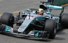 Mercedes driver Lewis Hamilton in action. Picture: @F1/Twitter