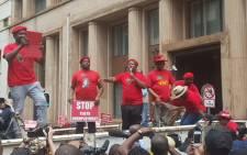EFF leader Julius Malema. Picture: Morena Mothupi/EWN.