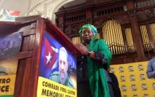 FILE: Nkosazana Dlamini-Zuma. Picture: @GautengANC.