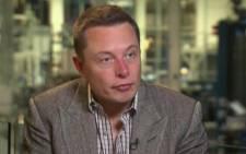 FILE: Tesla Motors Inc CEO Elon Musk.  Picture: CNN.