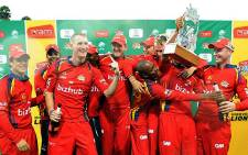 Highveld Lions are the 2013 Ram Slam T20 champions. Picture: CSA