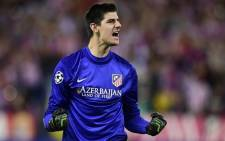 Atletico Madrid goalkeeper Thibaut Courtois, who is on loan from Chelsea. Picture: Facebook.com