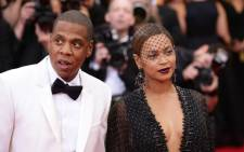 Beyonce and Jay-Z attend the Charles James: Beyond Fashion Costume Institute Gala at the Metropolitan Museum of Art on 5 May, 2014 in New York City. Picture: AFP.