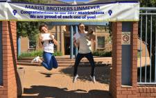 Marist Brothers in Linmeyer achieved a 100% pass rate for 2017. Picture: Katleho Sekhotho/EWN