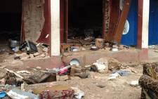 At least 29 people were confirmed dead when two bombs exploded in Nigeria's central city of Jos on 5 July 2015. Picture: Samson Omale/EWN.