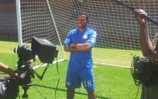 SuperSport United striker Kermit Erasmus. Picture: Twitter