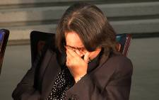 Patricia De Lille says the Arms Deal findings were 'predetermined'. Picture: EWN