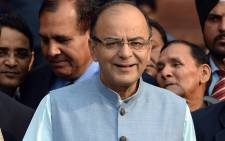 Indian Finance Minister Arun Jaitley. Picture: AFP.