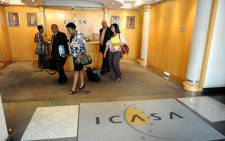 Members of the Complaints Compliance Committee of Icasa are seen at the regulator's offices in Johannesburg on 12 November 2012. Picture: SAPA.
